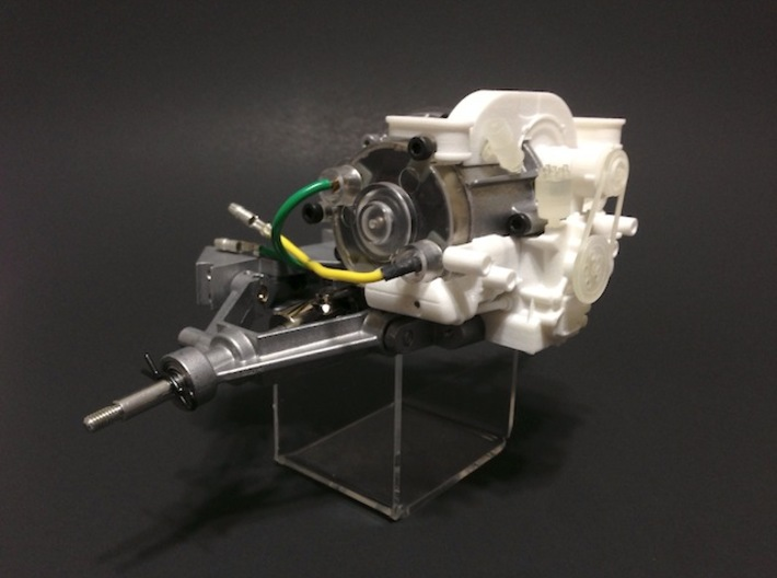 SR20001 Mk2 SRB Main Engine Part 1 of 2 3d printed Image shows complete engine fitted to a SRB gearbox  (not included)