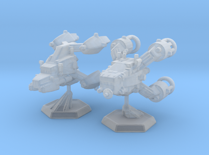 Star Sailers - AstroMac - TR-SC-20mm 3d printed