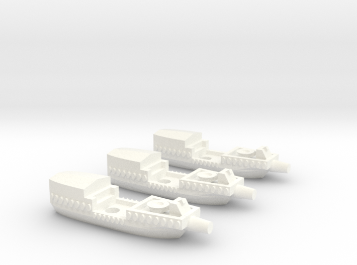 Fantasy Fleet Cutters 3d printed