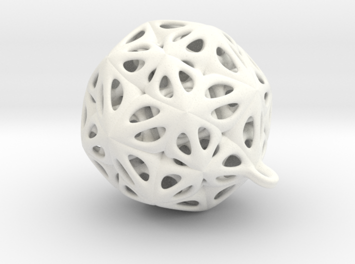 Pendant star 3d printed
