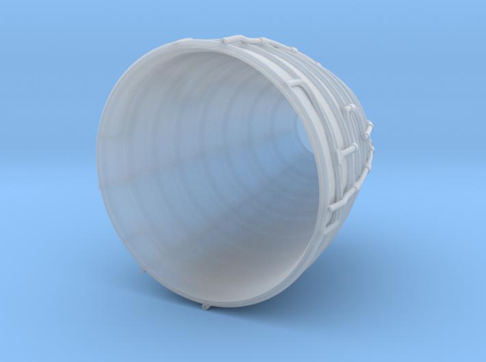 1/62 Scale SSME 3d printed