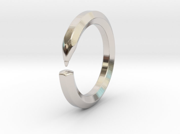 Herbert S. - Pencil Ring 3d printed