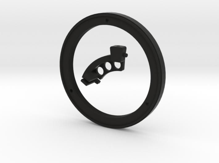 Meyer Oreston 1.8/50 (Exacta) converter to Nikon 3d printed