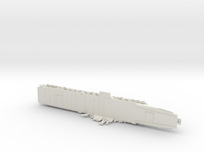 USS Midway w/o deck numbers 1/1800 3d printed