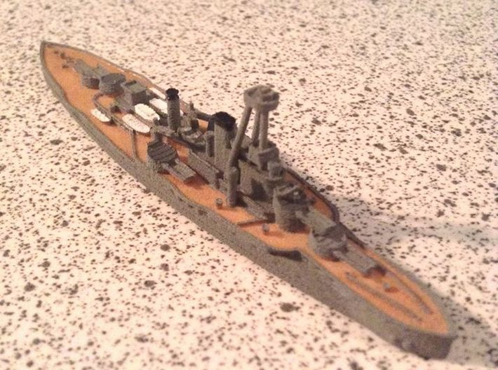Courbet 1/1800 3d printed By Bret7073