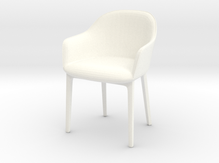 1:12 Chair Softshell 3d printed