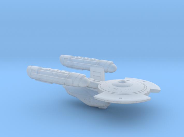 Terran Cunningham Class Light Cruiser - 1:7000 3d printed