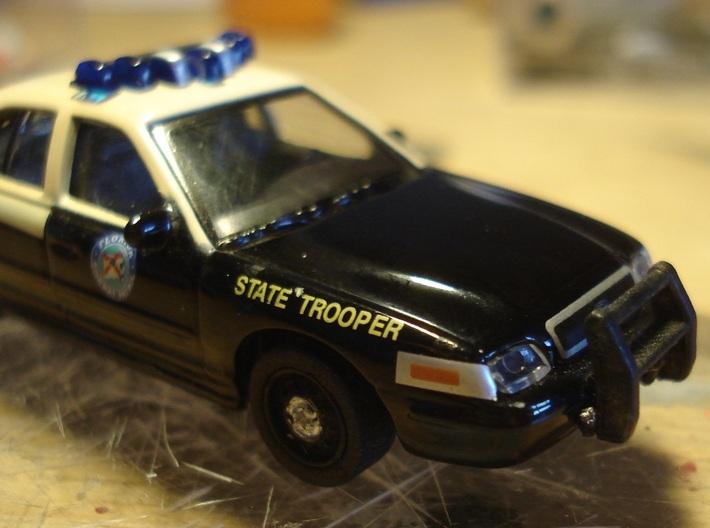 Copset für Ford Crown Vic Police / Polizei in H0  3d printed