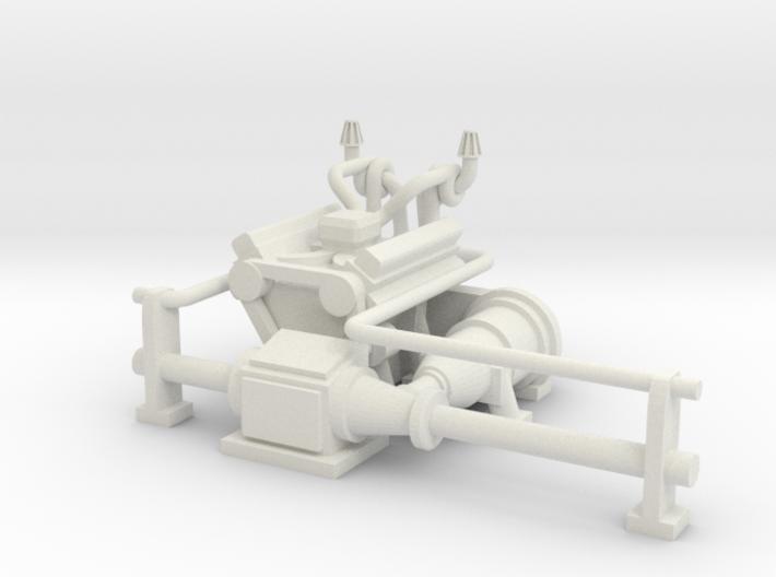 M113 M-113 Engine 1:30 3d printed