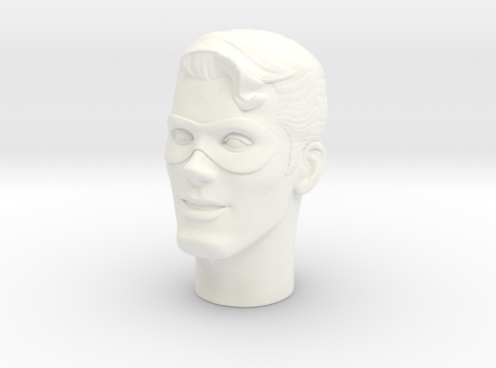 1:6 Scale The Spirit Head (no hat) 3d printed