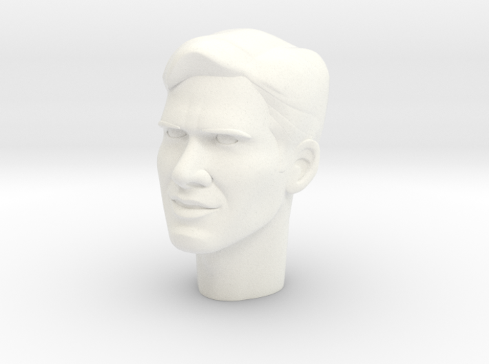 1:6 Scale Indy Head 3d printed