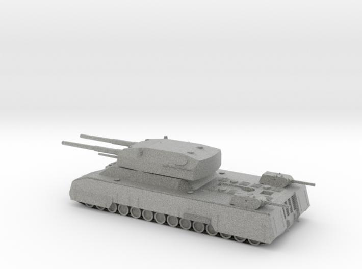 Landkreuzer P.1000 Ratte 1/285 Scale 3d printed