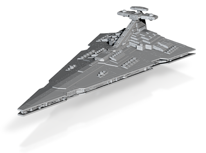 Praetor Imperial Battlecruiser Armada Custom 3d printed