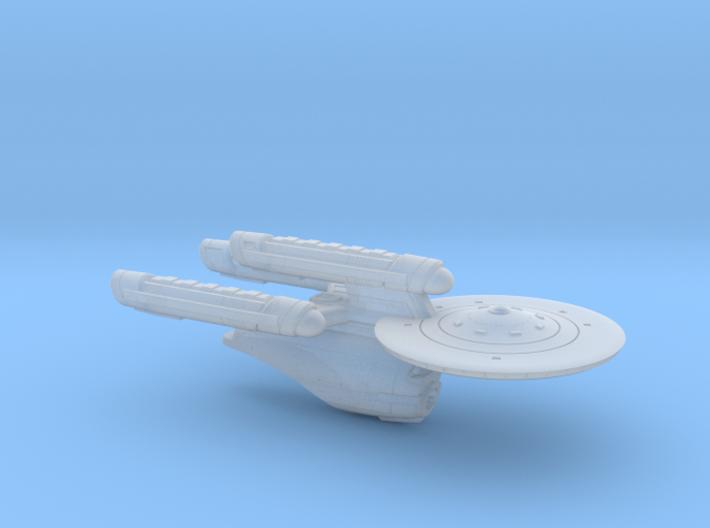 "Terran ""Union"" Class Dreadnought - 1:7000 3d printed"