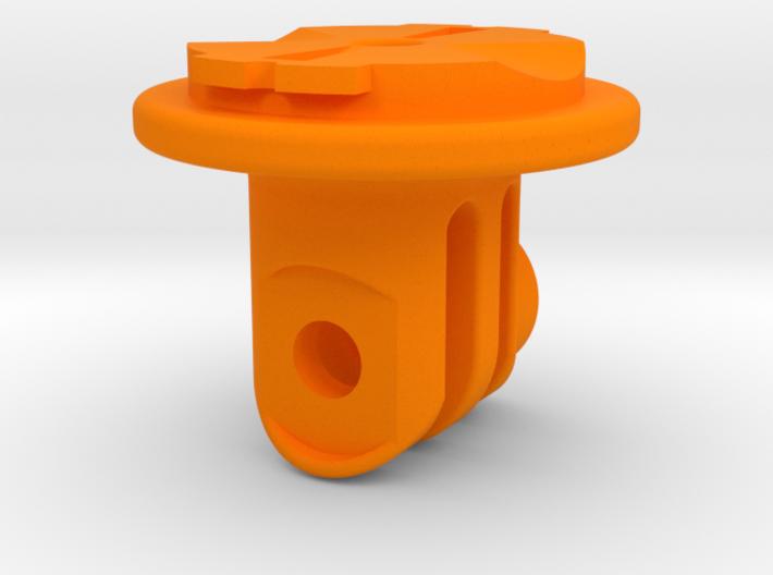 GoPro / Garmin Quarter-Turn Adapter Mount 3d printed
