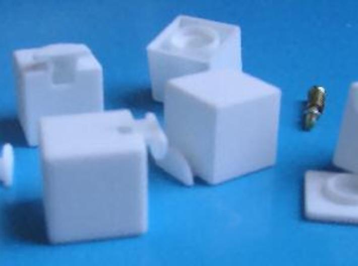 Easy Cuboid: 1x2x3 3d printed Separate Parts