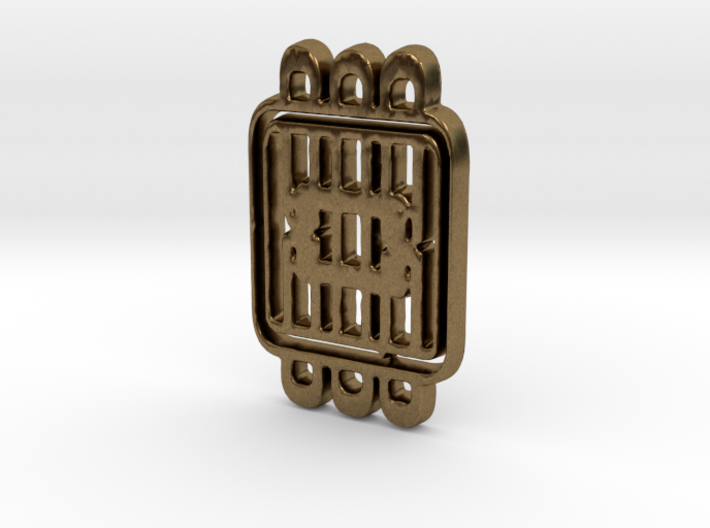 Cushioned square 3d printed