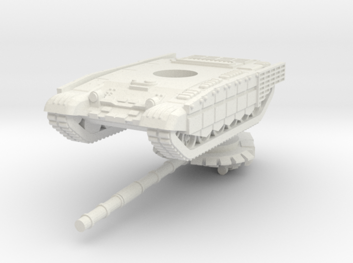1/144 T-72B3M (cage armour) 3d printed