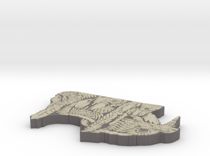 Nierem Irimet 3d printed