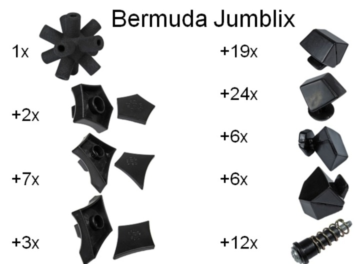 Core for Bermuda Jumblix 3d printed