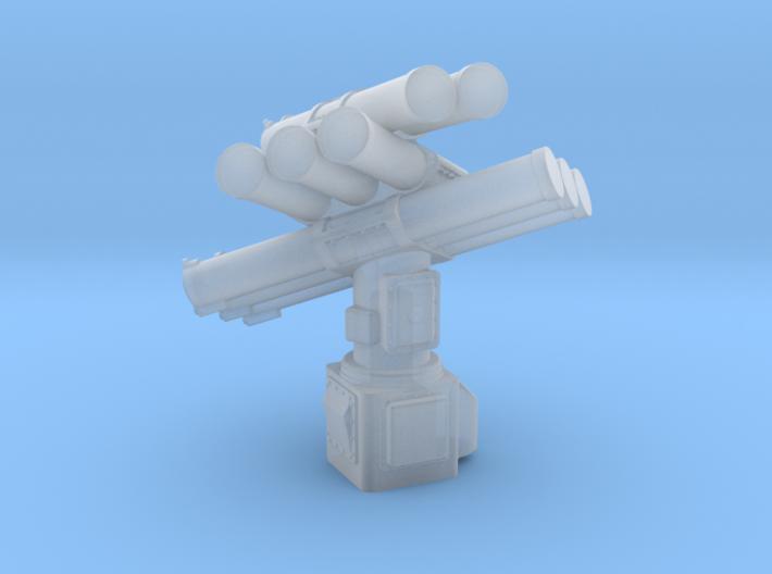 Corvus 8 Tube Standard Pedestal 1/72 3d printed
