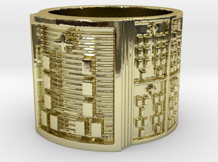 BABA OGUNDA MEYI Ring Size 11-13 3d printed