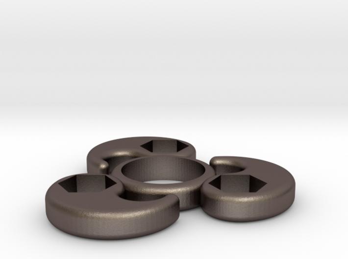 Single Bearing Hand Spinner 3d printed