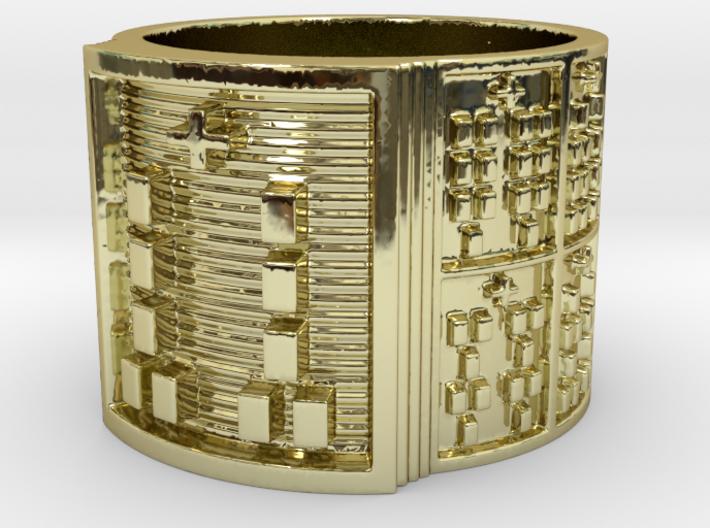 BABA OGUNDA MEYI Ring Size 14 3d printed