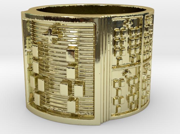 BABA IRETE MEYI Ring Size 14 3d printed