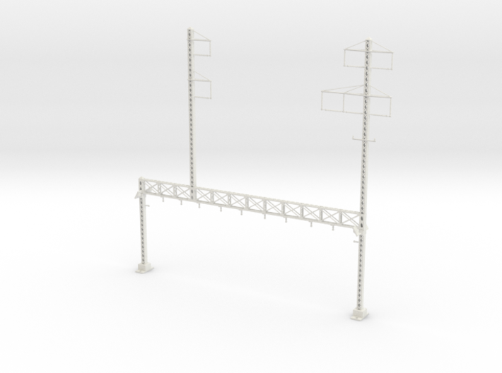 PRR LATTICE POLE NORTH PHILLY CUSTOM STAG 5 TALL I 3d printed