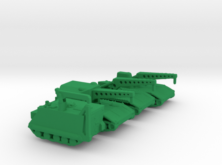 1/285 Scale Armored Recovery Vehicles 3d printed