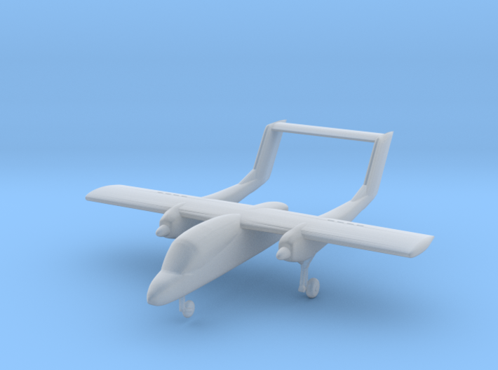Rockwell OV-10 Bronco - Nscale 3d printed