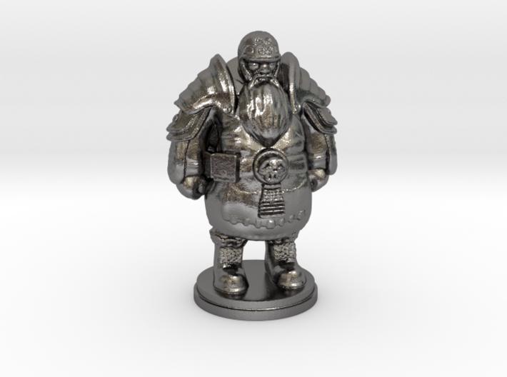 Tabletop Game Resting Dwarf Warrior 28mm 3d printed