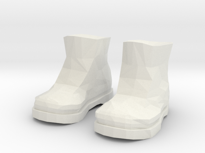 Timberland Shoes 3d printed