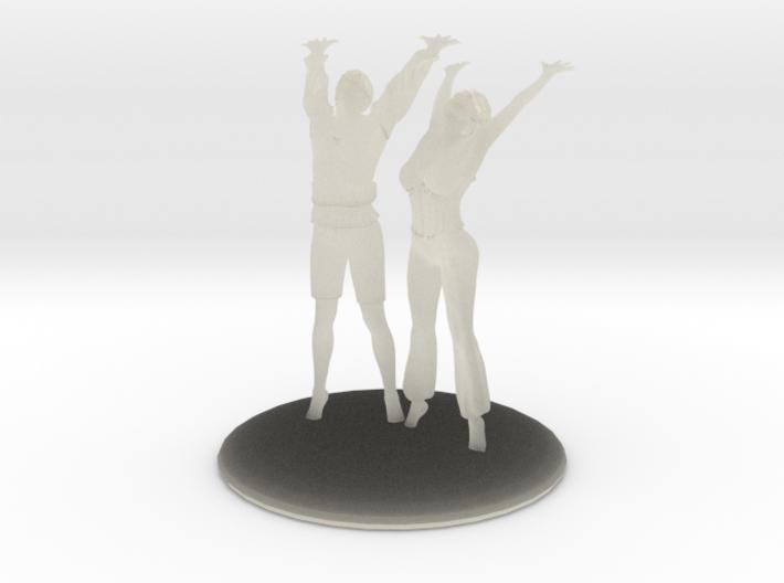 Divine Celebration Couple 3d printed