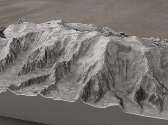 Mt. Logan, Yukon, Canada, 1:100000 Explorer 3d printed