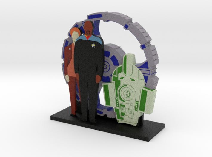 Deep Space 9: Sisko and Nerys = DESKAPADES = 3d printed