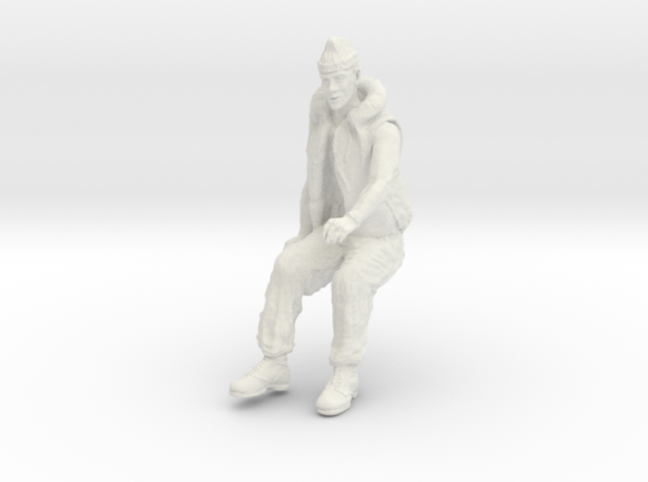 1-16 Seated Merch Navy Sailor 2-6-1 3d printed