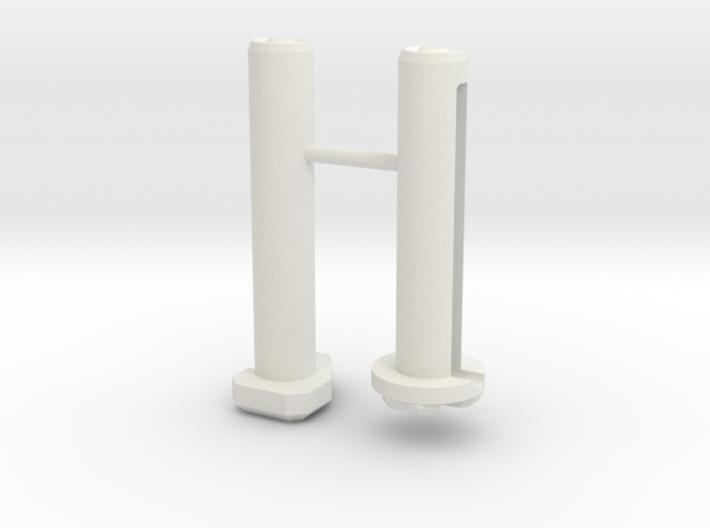 ICS CXP Custom Takedown Pins 3d printed