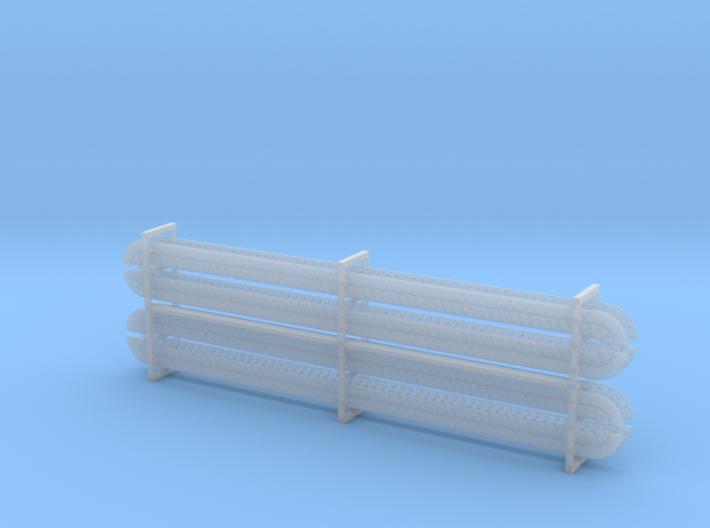 Nieten- und Schraubenreihen (8 Stück) 3d printed