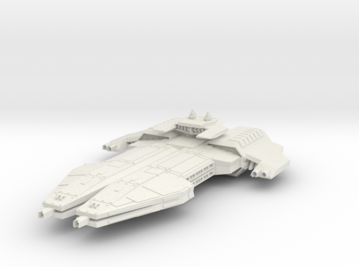 Interceptor Royal Guard Rift BattleDestroyer 3d printed