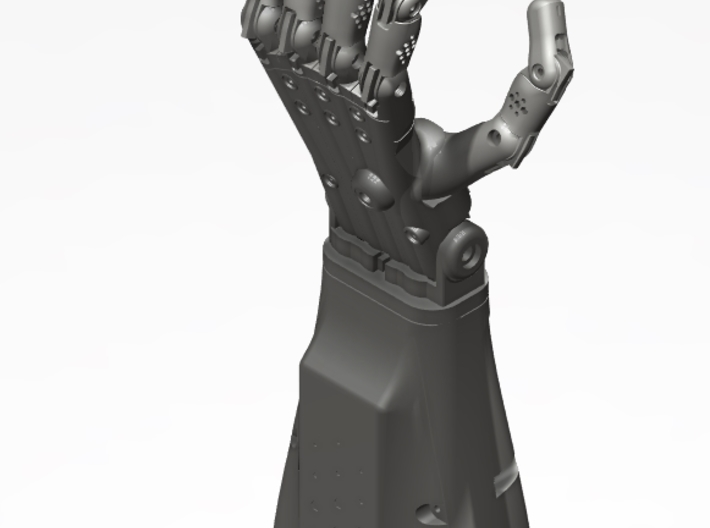 Full Left Hand (3d printed parts only)