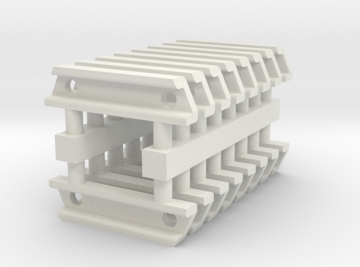1-35 USN Oerlikon Locker Mount Brackets Set 3d printed
