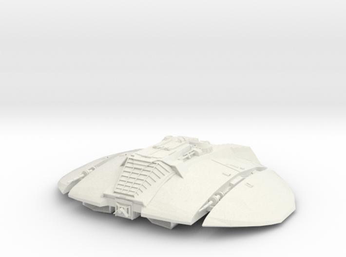 BSG Cylon Raider 3d printed