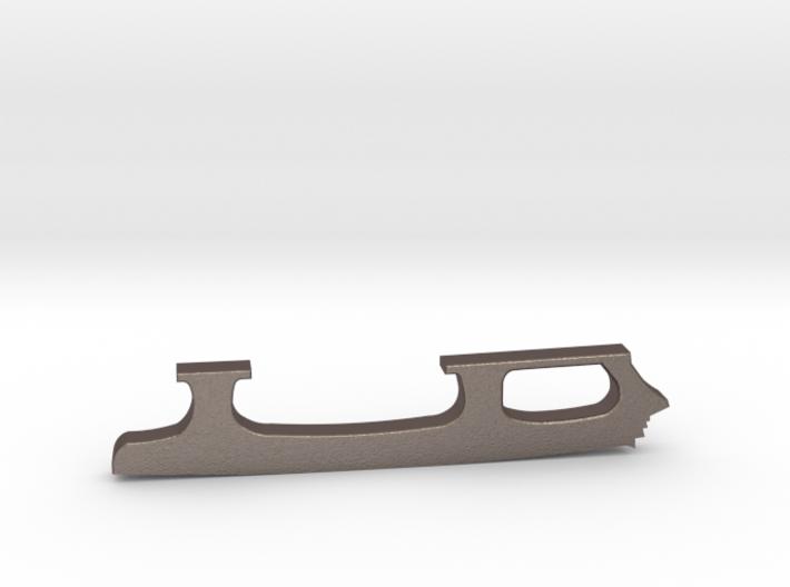 Figure Skate Pendant 3d printed