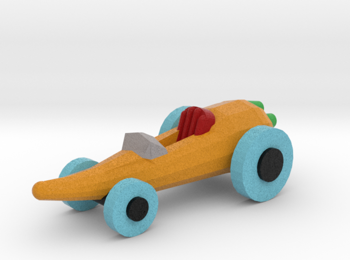 Carrot Car 3d printed
