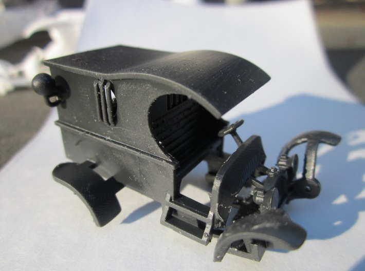 """HWP HO Slot Car Body """"Miss Demeanor"""" 3d printed Your printed body will arrive as one piece"""