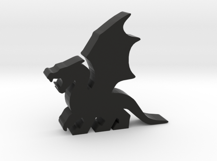 Game Piece, Dragon, Wings Flapping 3d printed