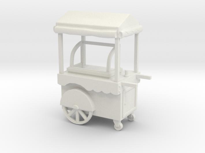 Food Cart 01. O scale (1:43) 3d printed