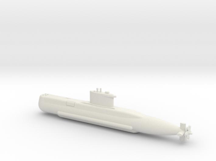 1/350 Type 209 - 1200 class submarine 3d printed